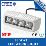 Jgl LED Work Lamp CREE 20W with White Housing