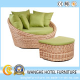 Hotel Outdoor Rattan Chair Chaise for Garden