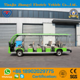 New Brand 17 Seats Electric Battery Powered Sightseeing Car for Resort with SGS and Ce Certification