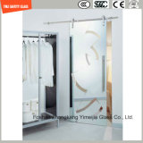 Acid Etched Tempered Decoration Door Glasswith SGCC/Ce&CCC&ISO
