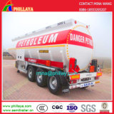 3axle 30-60cbm Chemical Liquid Fuel Diesel Petrol Oil Tank Semi-Trailer