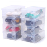 Transparent Plastic Shoes Box /Clear Plastic Shoes Case (MX-0941)
