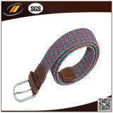 Colorfull Fashion Elastic Braided Belt with Pin Buckle