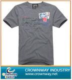 Cheap Men′s Printed Fashion Men Cotton T-Shirt