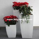 Fo-288 Conical Fiberglass Flower Planter, Tall Flower Pot