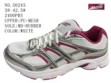 No. 50245 Lady Sport Stock Shoes with Mesh Upper