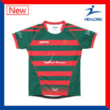 Healong Newest Design of Rugby Jerseys Sublimation Team Uniforms