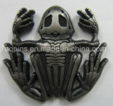 Antique and Unique 3D Challenge Coin in Frog Shape (ULT-332)