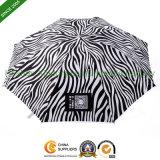 Rain Folding Umbrellas with Zebra Stripes for Lady Gifts (FU-3821ZZ)