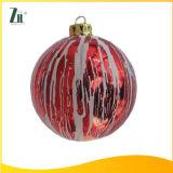 Red Christmas Glass Ball for Christmas Tree Decoration
