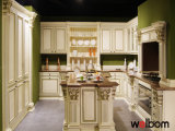 ISO Welbom Italian Customized Solid Wood Kitchen Cabinet Design