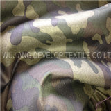 Polyester Micro Brushed Print Woven Fabric for Garment Fabric (DTN3079)