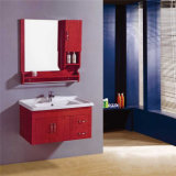 Wholesale Wall Mounted Wood Commercial Bathroom Vanity Units
