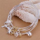 High Quality 925 Sterling Silver Fashion Bangles Jewelry B091
