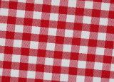Red/White Checks Twill CVC Yarn Dyed Fabric Shirting