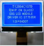 FSTN LCD 128 X 64 Graphic Pqg1206b with +5V Voltage