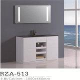 Small Design PVC LED Lighted Mirror Bathroom Vanity Unit