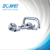 Dual Handle Brass Body Ceramic Cartridge Sink Mixer (BM57402)