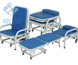 Hospital Power Coated Patient Accompany Chair, Patient Sleeping Chair
