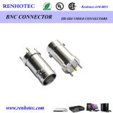 Straight Panel Receptacle BNC Female Connector