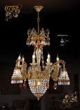 Classical Grandeur Hotel Crystal Chandelier Light (MD0752-6+3+1)