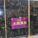 High Quality Turkey Grey Marble Slab for Club Wall