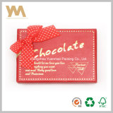 Romatic Red Chocolate Packing Box with Ribbon