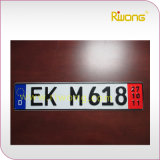 High Security Licence Plate