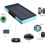 8000mAh Shockproof Dual USB Port Solar Panel Charger