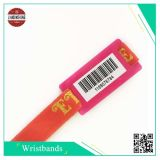Bar Code Fabric Wristband with Printing Barcode