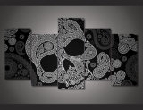 HD Printed Skeleton Line Pattern Painting on Canvas Room Decoration Print Poster Picture Canvas Mc-072