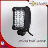 36W CREE 4 Row LED Light Bar with RoHS Ce ISO Certification