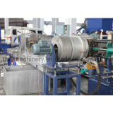 Waste PP PE Water-Ring Cutting Pelletizing / Extruder Machine