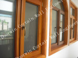 Custom Made Wood Aluminium Window