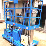 Double Mast Aluminum Alloy Hydraulic Lifting Platform