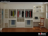 2015 Custom Oak Wood Wardrobe Design