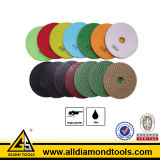 3 or 5 Step Polishing Pads for Granite and Marble