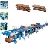 High Speed Corrugated Paperboard Making Machine
