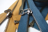 3# Brown Metal Zipper