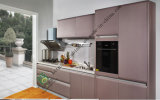 2017 Luxurious Solid Wood UV Kitchen Cabinet (Lacquered Series -Impression)