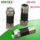 Coaxial Cable Compression Connector F Type