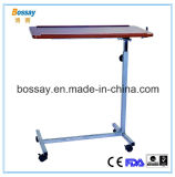 Hospital Wooden Mobile Dining Table