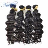 2017 Wholesale Chinese Human Hair 4 Bundles Deep Wave Human Hair Extension