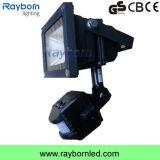 PIR Motion Sensor 10W LED Security Flood Light for Walkway