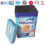 Milk Power Box Artight Lid Tin Container