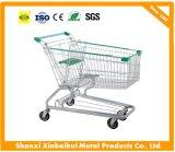 Metal German Supermarket Shopping Cart with Baby Seat