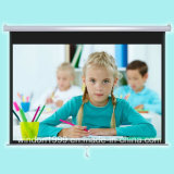 Factory Customized Manual Projetcor Screen Pull Down Projection Screen with Cheap Price