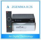 Original Enigma2 Linux Zgemma H. 2s Twin DVB-S2 FTA Receiver