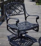 Garden Swivel&Rocking Chair Furniture with Cast Aluminum