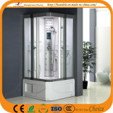Square Base 2 Side Sliding Door Shower Cabin (ADL-8810)
